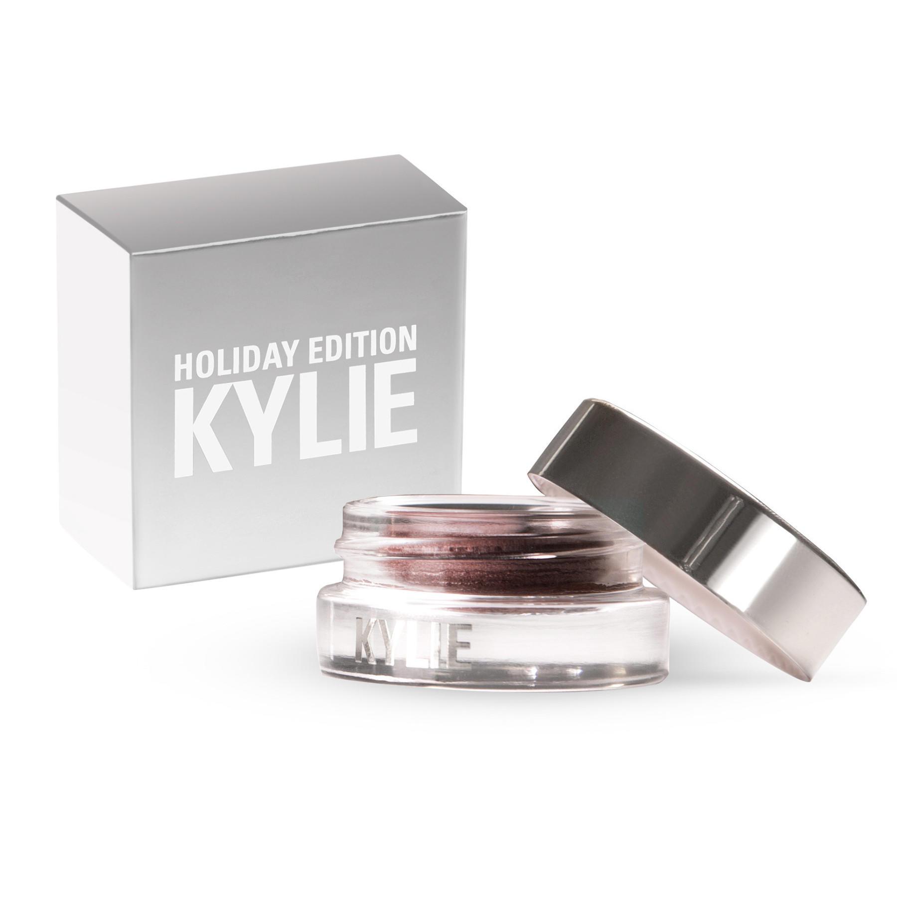 Kylie Creme Gel Shadow Holiday Edition Golden Plum