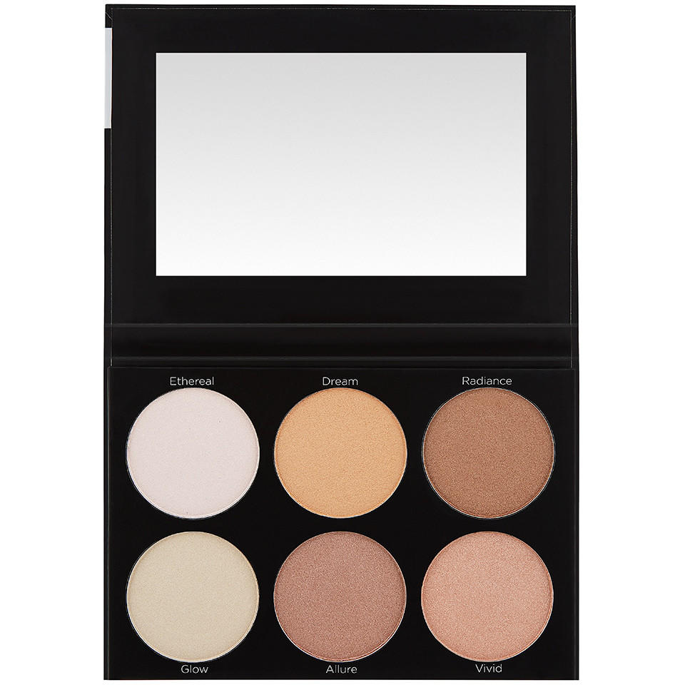 BH Cosmetics Spotlight Highlight 6 Color Palette