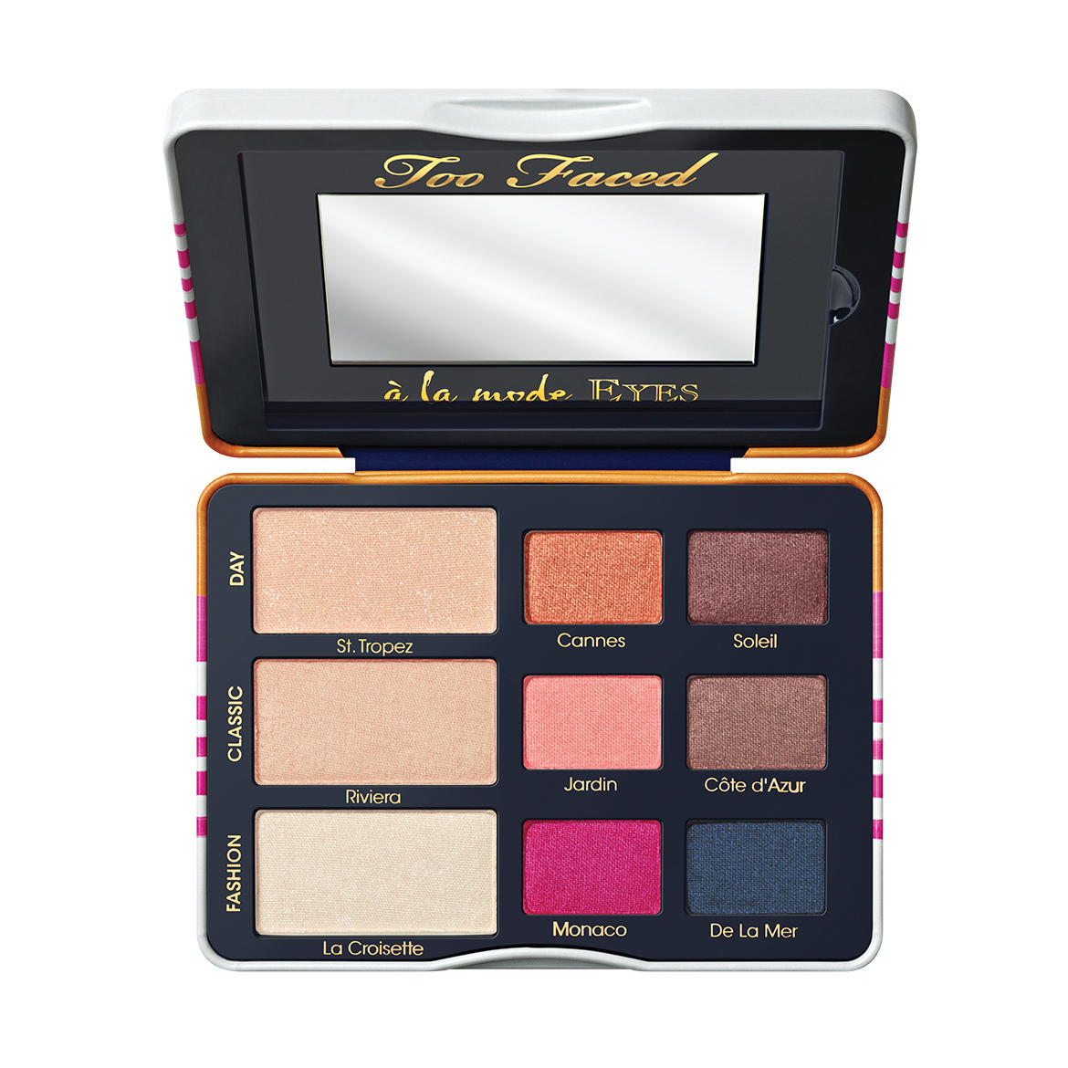 Too Faced  A' La Mode Sexy St. Tropez Eye Shadow Palette