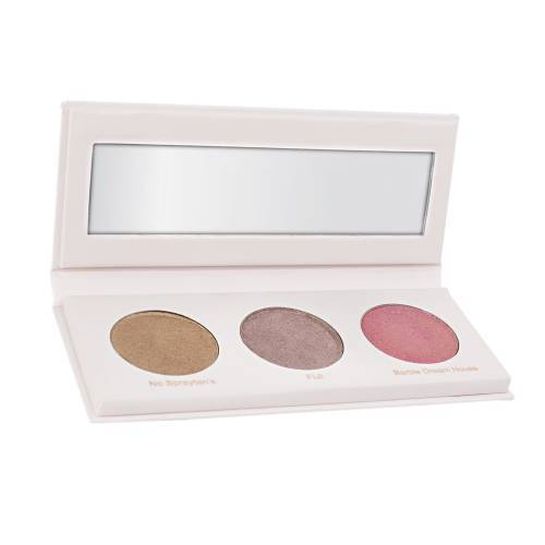Basic Beauty Glowy AF Wet Glow Highlighting Palette