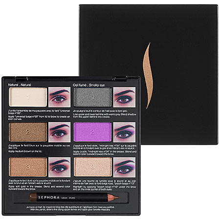 Sephora Pro Lesson Eyeshadow Palette Brown Eyes