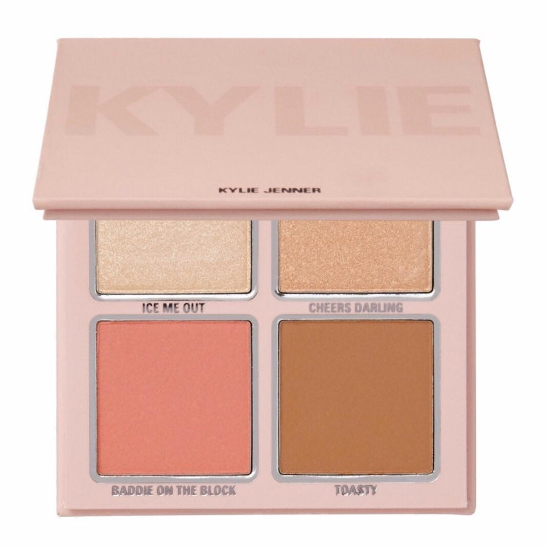 Kylie Cosmetics Pink Holiday Pressed Powder Face Palette