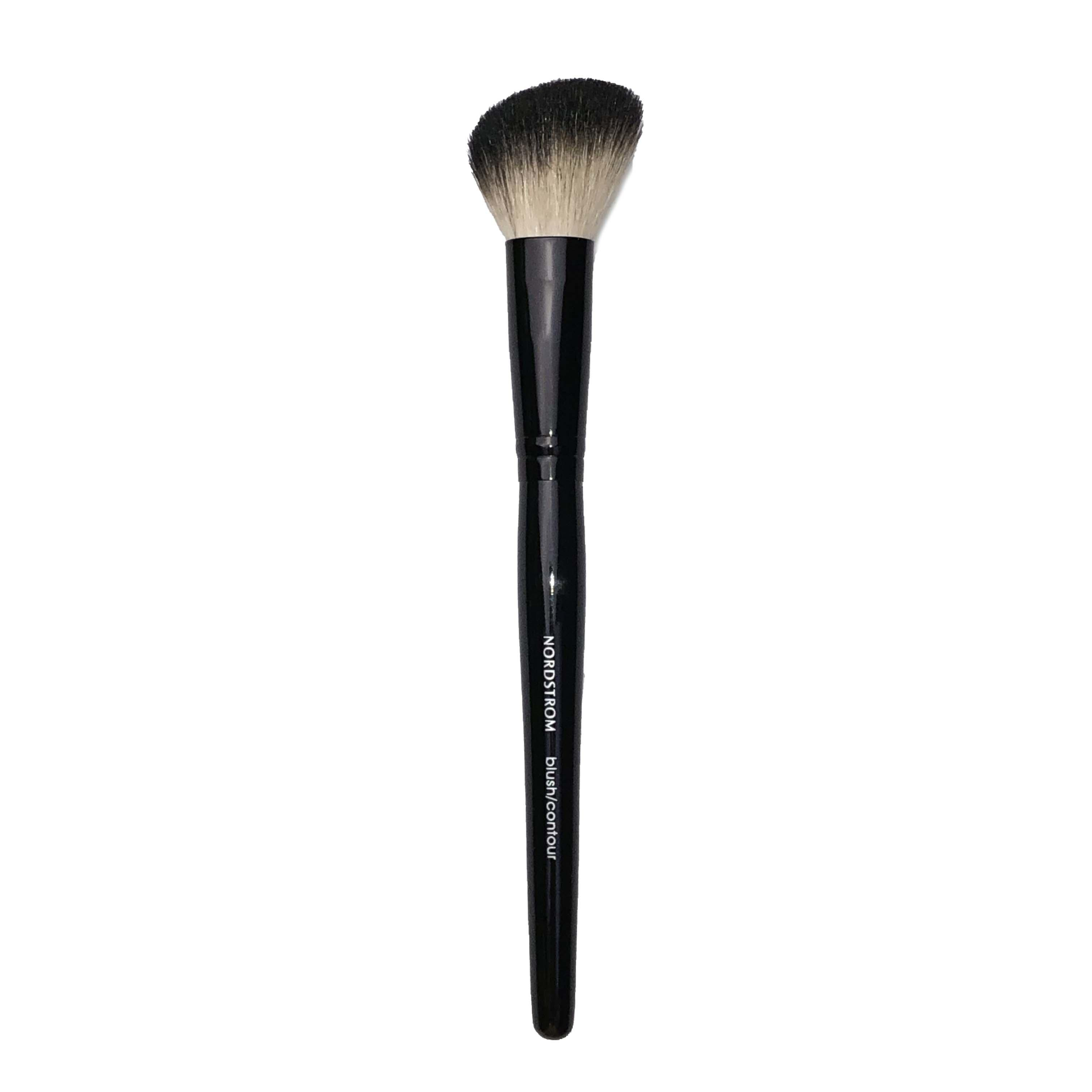 Nordstrom Blush Contour Face Brush Black