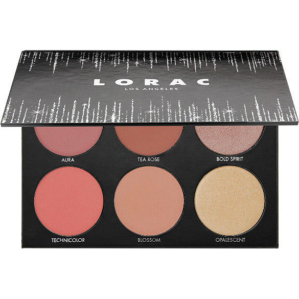 LORAC Shine Bright Color Source & Light Source Cheek Palette