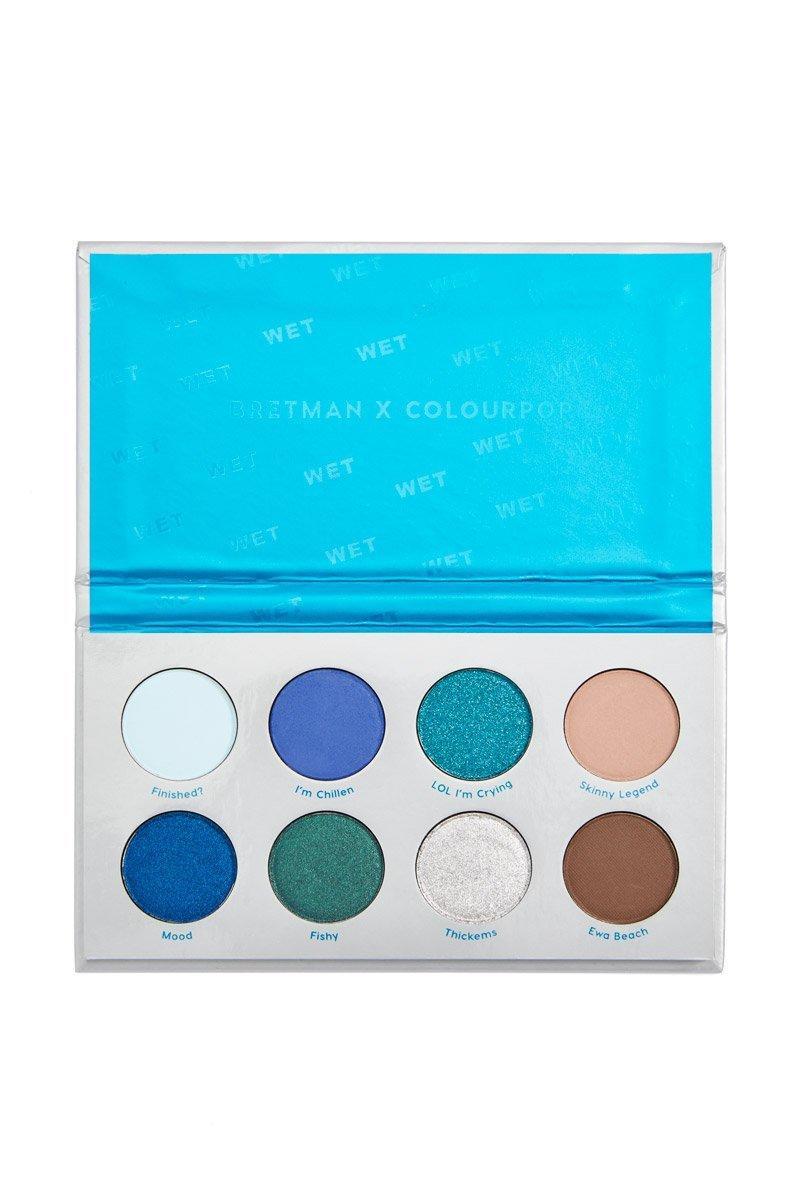 Colourpop Pressed Powder Shadow Palette Wet Bretman Collection