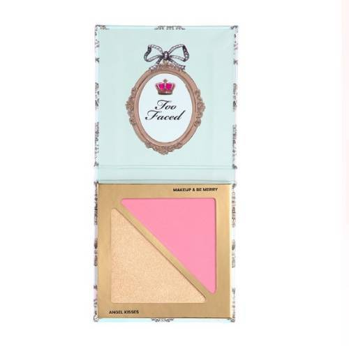 Too Faced Unbearably Glamorous Blush Highlight Duo