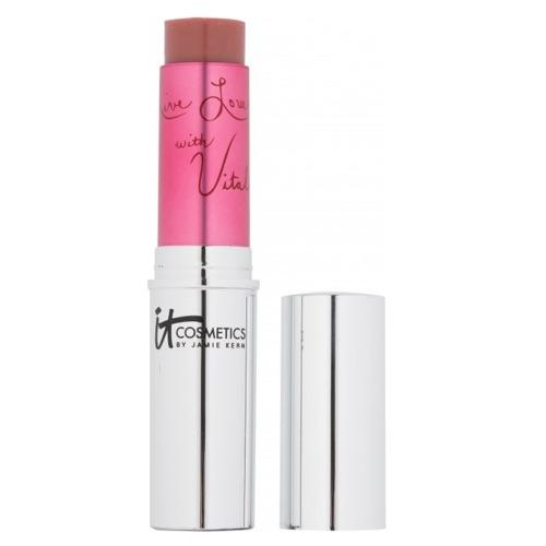 IT Cosmetics Vitality Flush Stain Stick Lip & Cheek Reviver Rose Flush