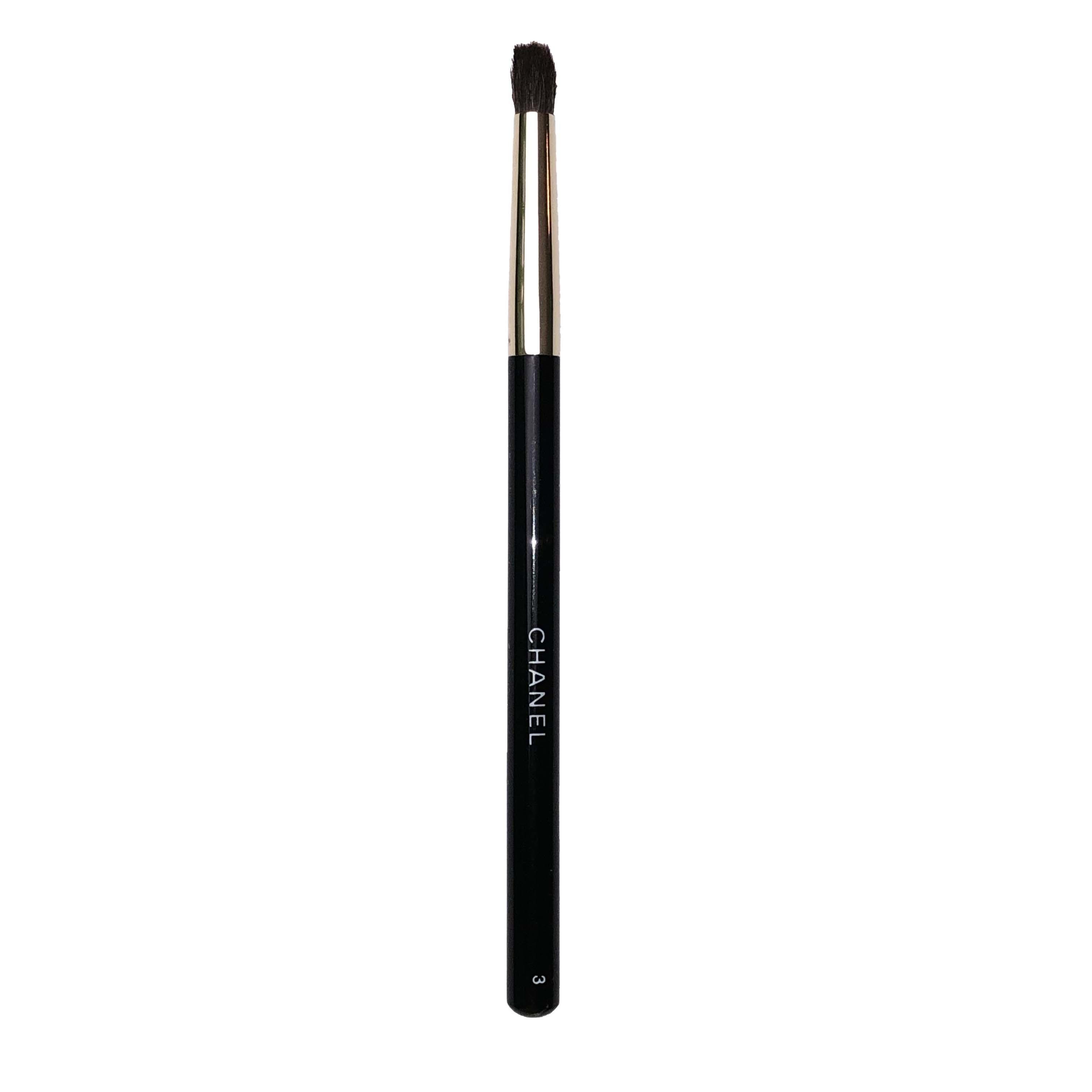 Chanel Fluffy Pencil Tip Eye Defining Brush Classic Black