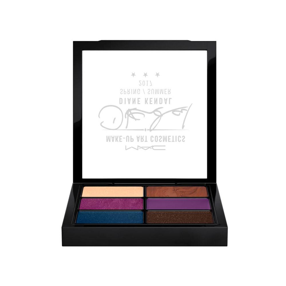 MAC Eyeshadow Palette X 6 Diane Kendal Collection Glamorize Me