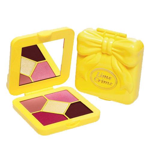 Lime Crime Pocket Candy Eyeshadow Palette Pink Lemonade