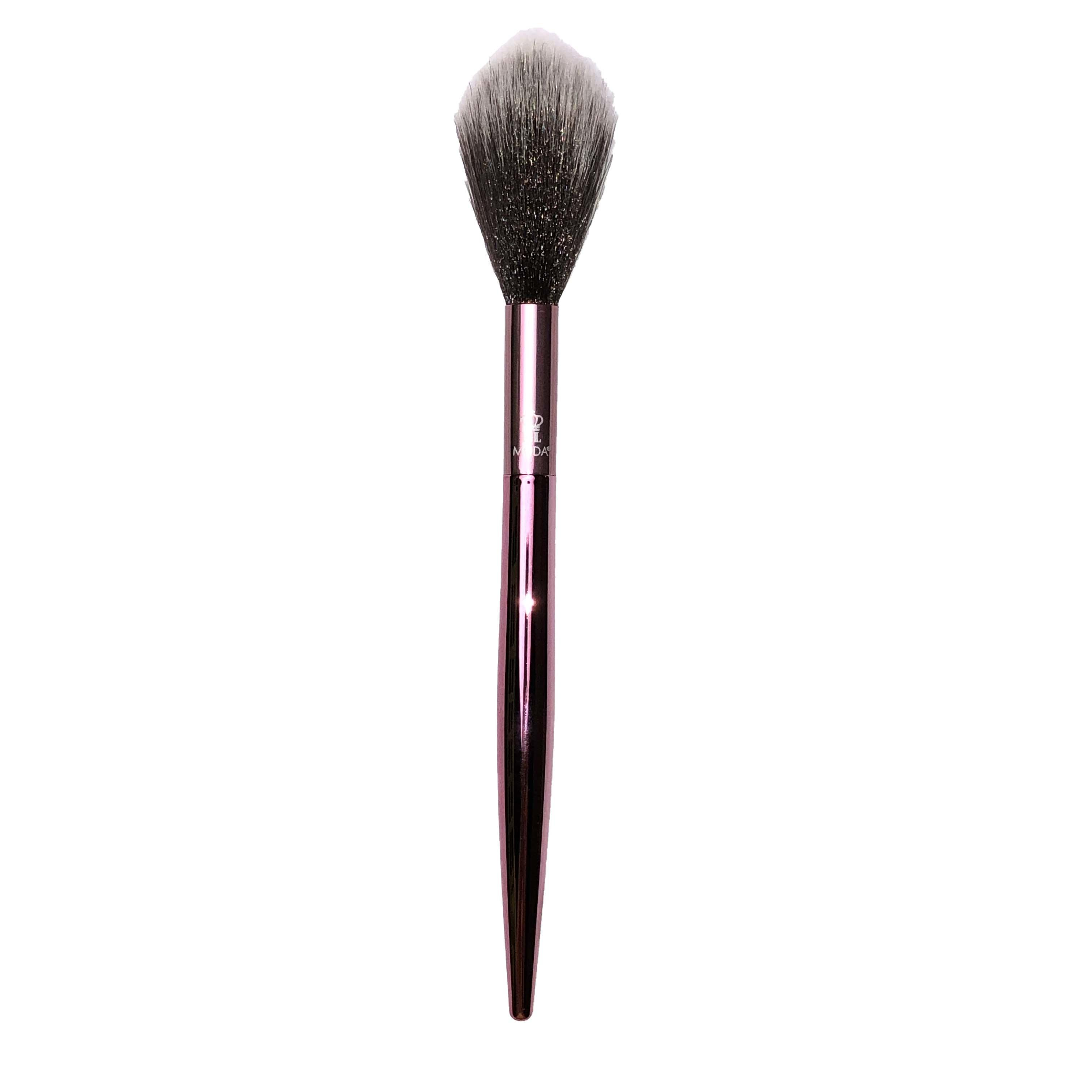 MODA Tapered Fluffy Diffusing Face Brush Chrome Pink