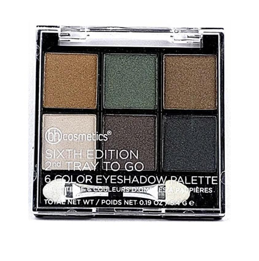 BH Cosmetics Sixth Edition 2nd Tray To Go 6 Color Eyeshadow Palette