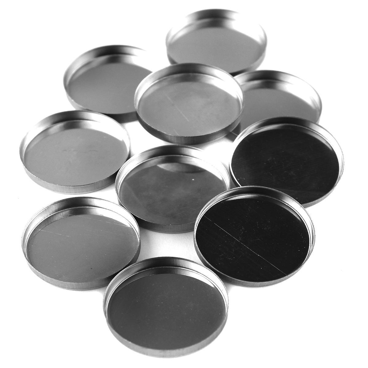 Z Palette Round Empty Metal Pans 10 pack