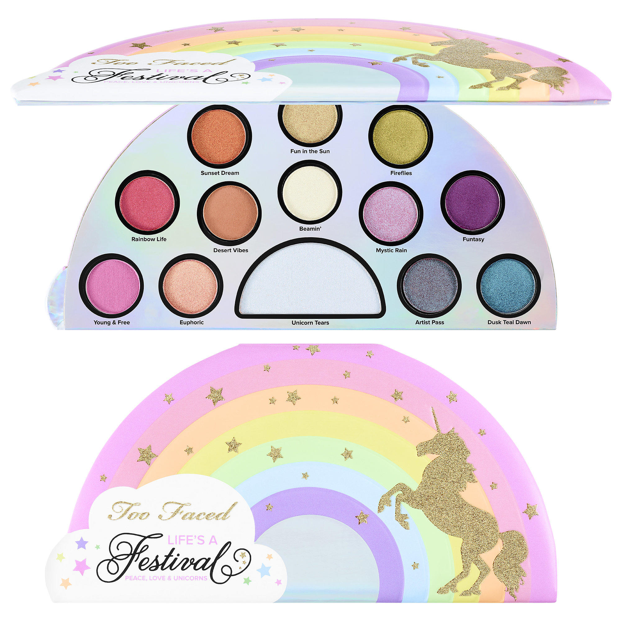 Too Faced Life's A Festival Eye Shadow Palette