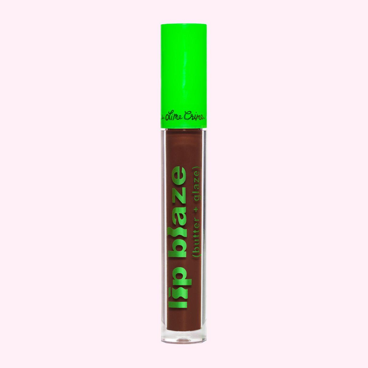 Lime Crime Lip Blaze Cream Liquid Lipstick Moss