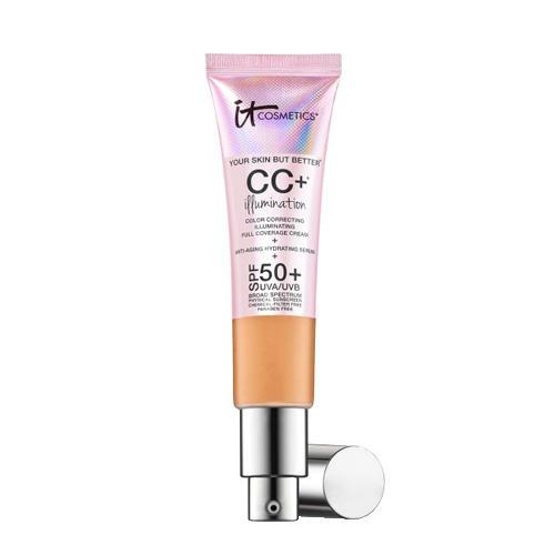 IT Cosmetics CC+ Illumination Color Correcting Illuminating Full Coverage Cream Tan