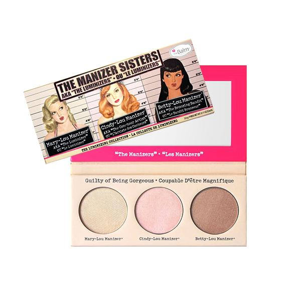The Balm Luminizing Collection Manizer Sisters Palette