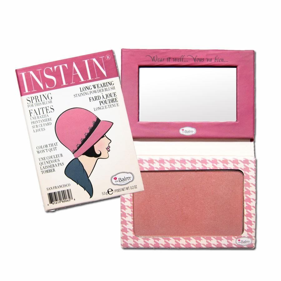 The Balm INSTAIN Long-Wearing Blush Houndstooth