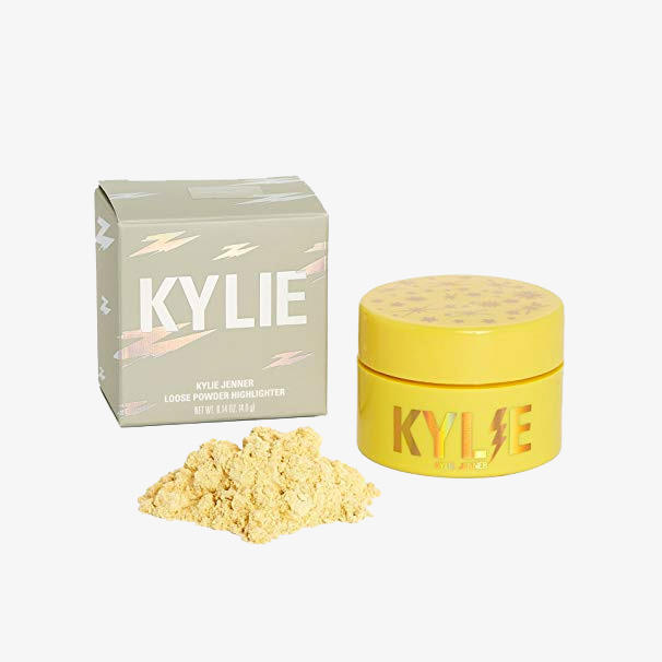 Kylie Cosmetics Loose Powder Highlighter Lightning Bolt