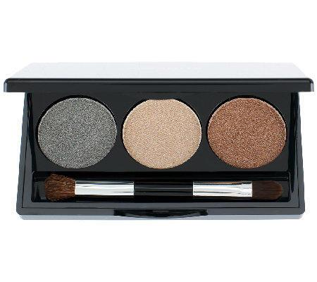 Laura Geller Baked Creme Glaze Trio Eyeshadow Palette Golden Sunset