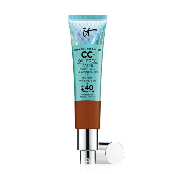 It Cosmetics Your Skin But Better CC+ Cream Oil-Free Matte Deep