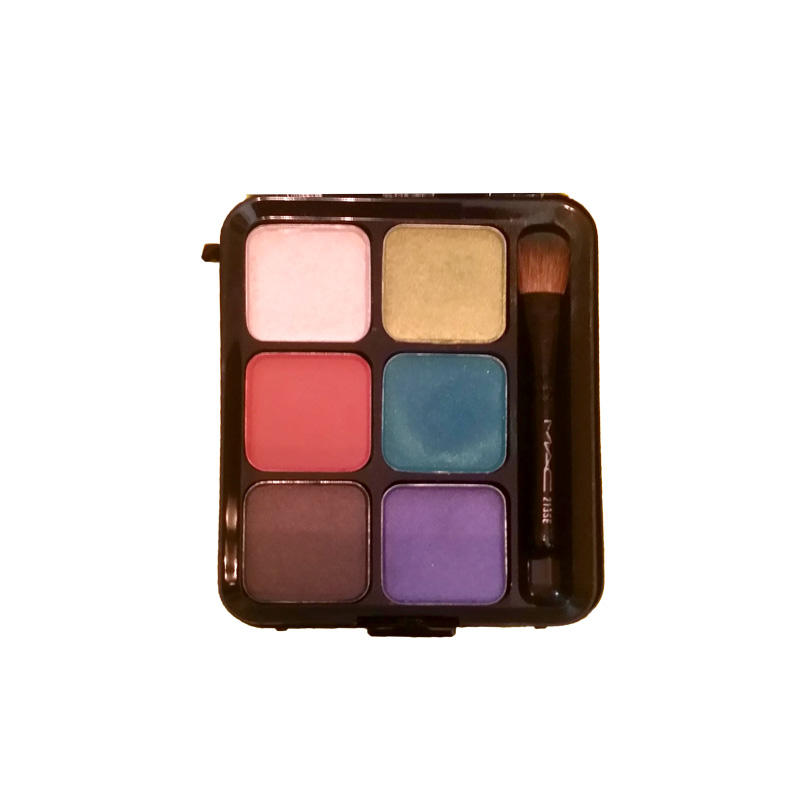 MAC Eyeshadow Palette 6 Intense Eyes Suedette