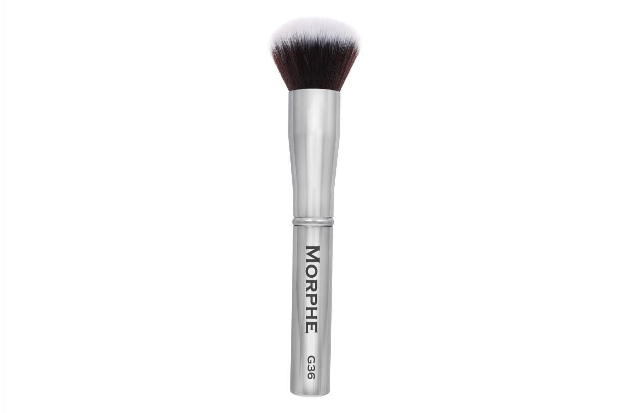 Morphe Round Powder Brush G36 Gunmetal Collection