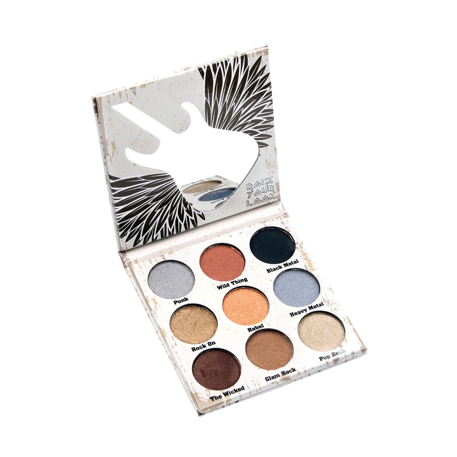 Crown Glam Metals Eyeshadow Palette