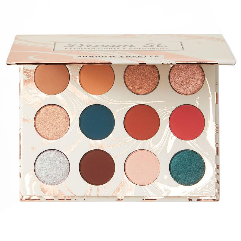 ColourPop x Kathleen Lights Pressed Powder Eyeshadow Palette Dream St.