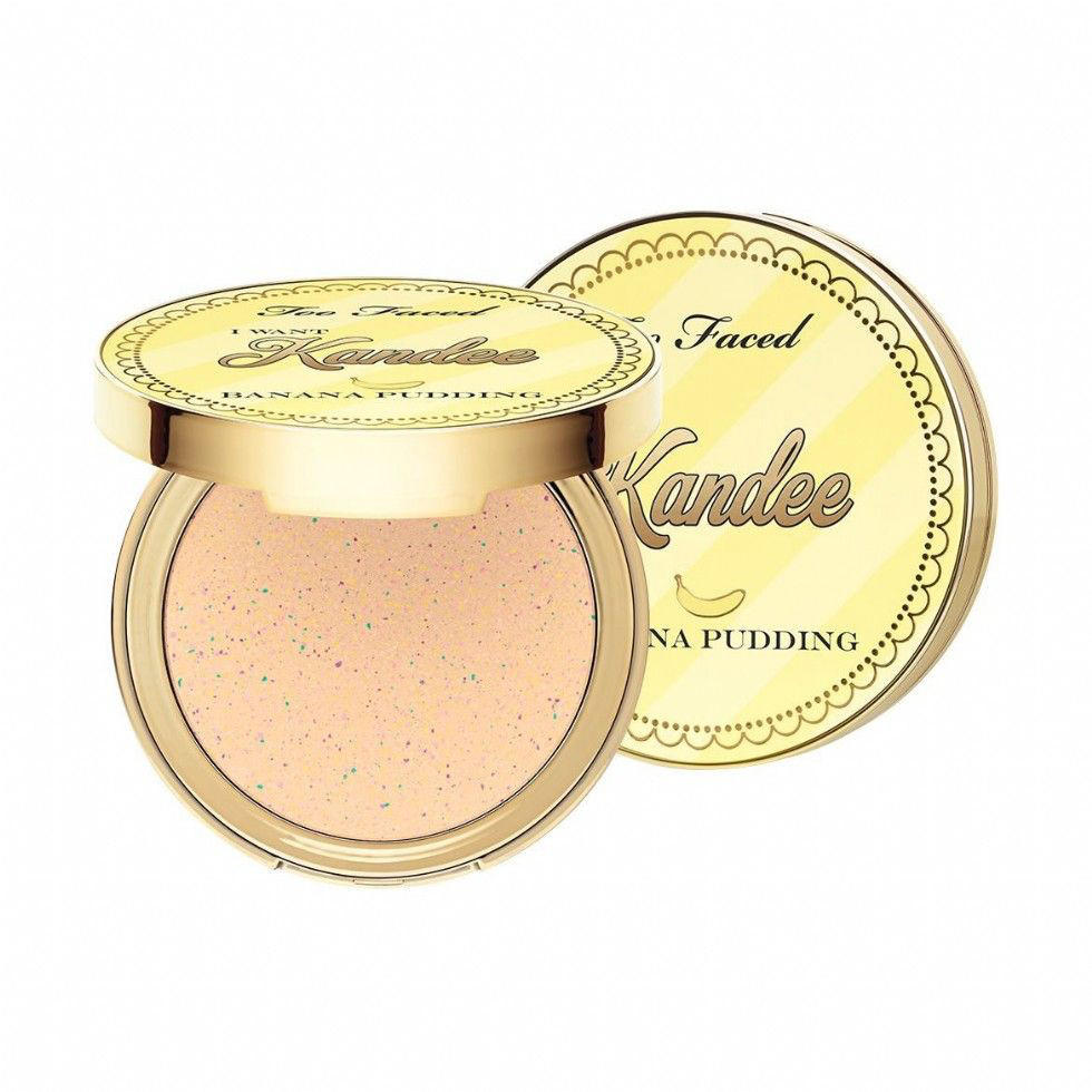 Too Faced I Want Kandee Brightening Face Powder Banana Pudding