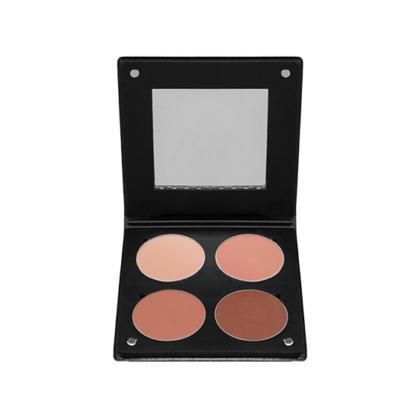 Make-Up Atelier Paris Palette 4 Blush 3D Dark Skin 1