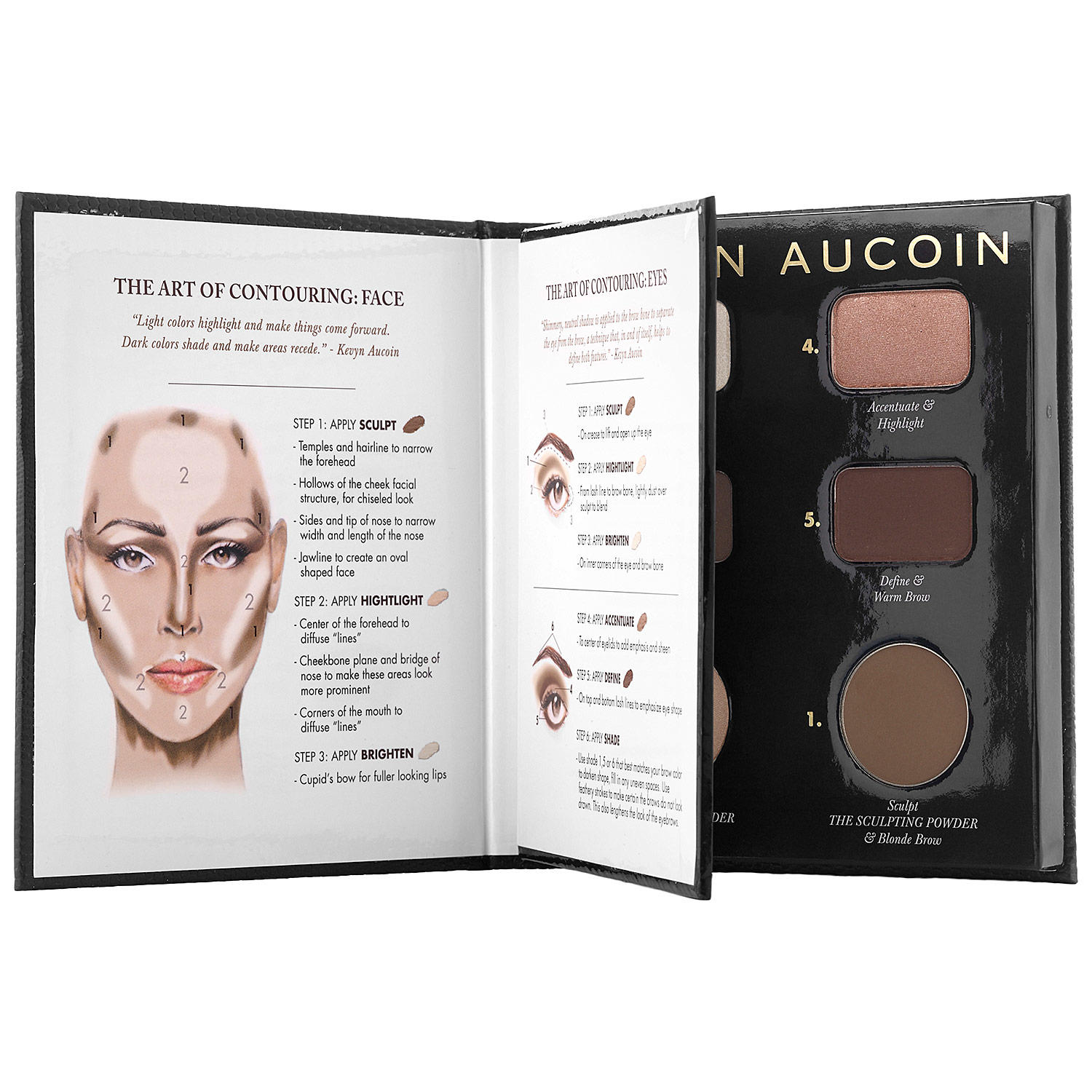 Kevyn Aucoin The Contour Book The Art Of Sculpting + Defining Palette #1