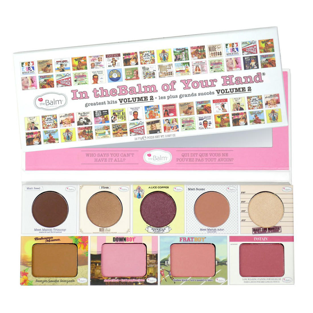 The Balm In The Balm Of Your Hand Greatest Hits Palette Vol 2.