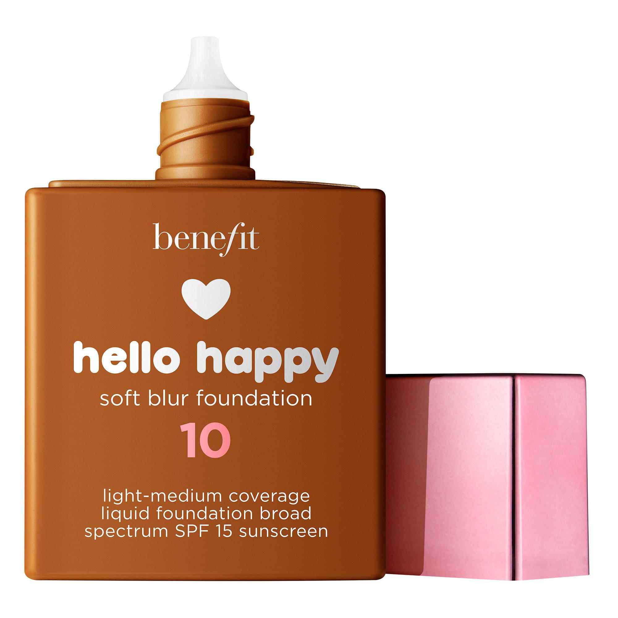 Benefit Hello Happy Soft Blur Foundation Deep Warm 10
