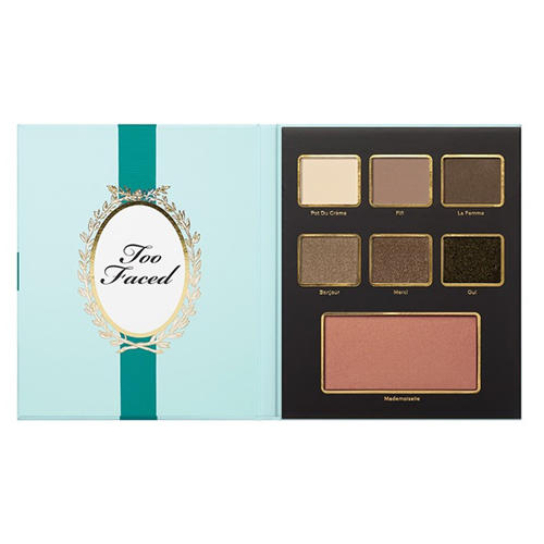 Too Faced Eye & Face Palette Teal Bow Holiday Collection