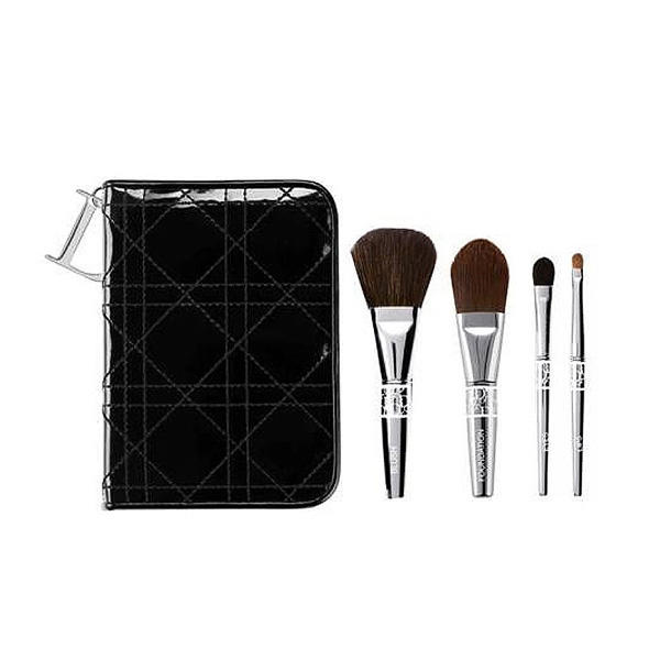 66c47610 Dior Travel Brush Set Cannage Couture Collection   Glambot.com ...