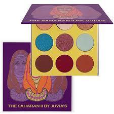 Juvia's Eyeshadow Palette The Saharan Vol. II