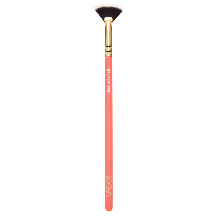 Zoeva Petit Fan Brush 137 Coral Shine Collection