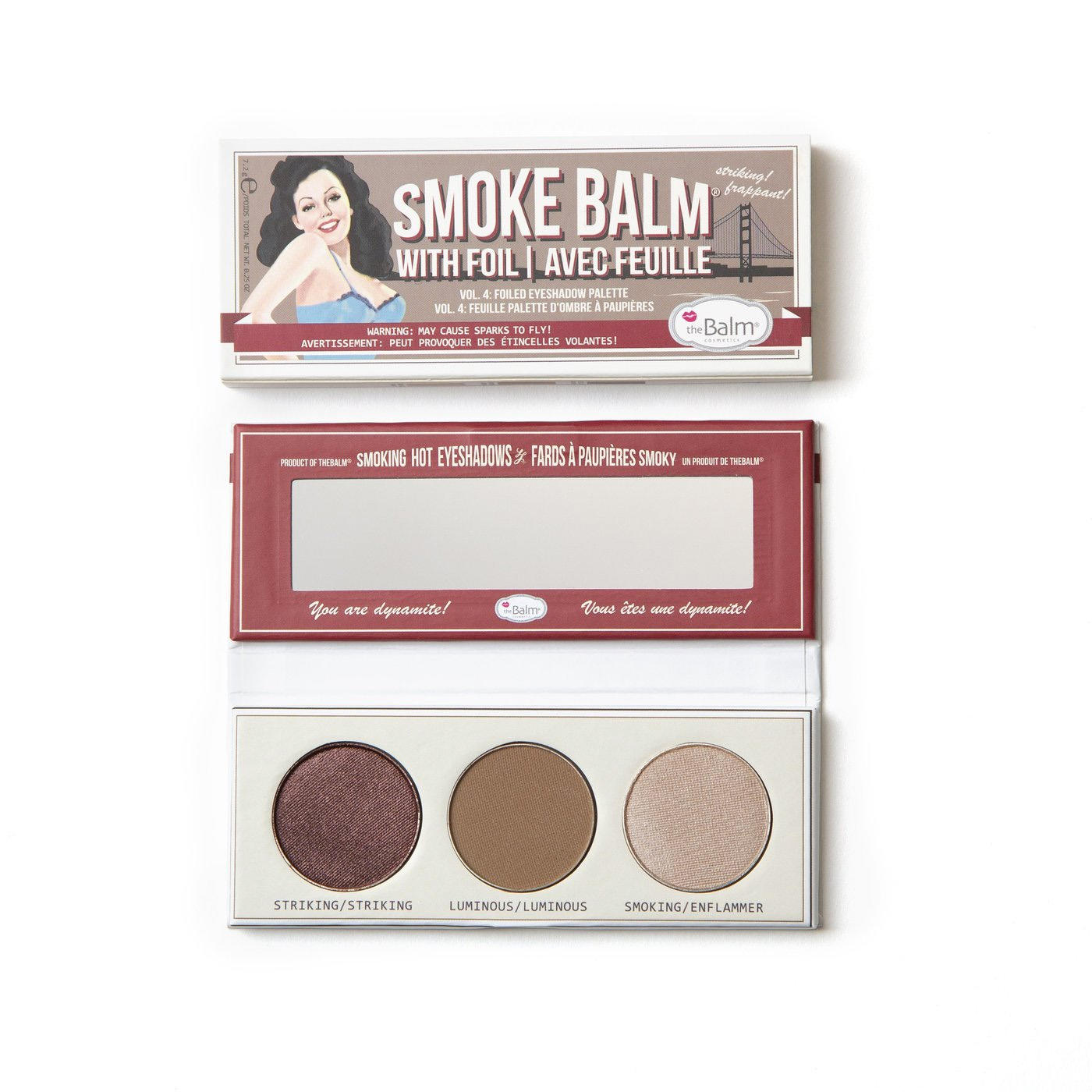 The Balm Smoke Balm Foiled Eyeshadow Palette Vol. 4