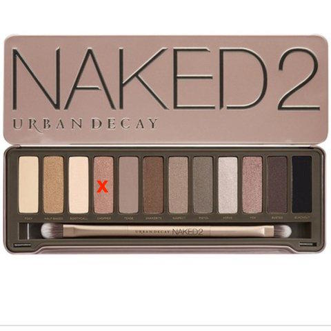 Urban Decay Naked2 Palette (without chopper)