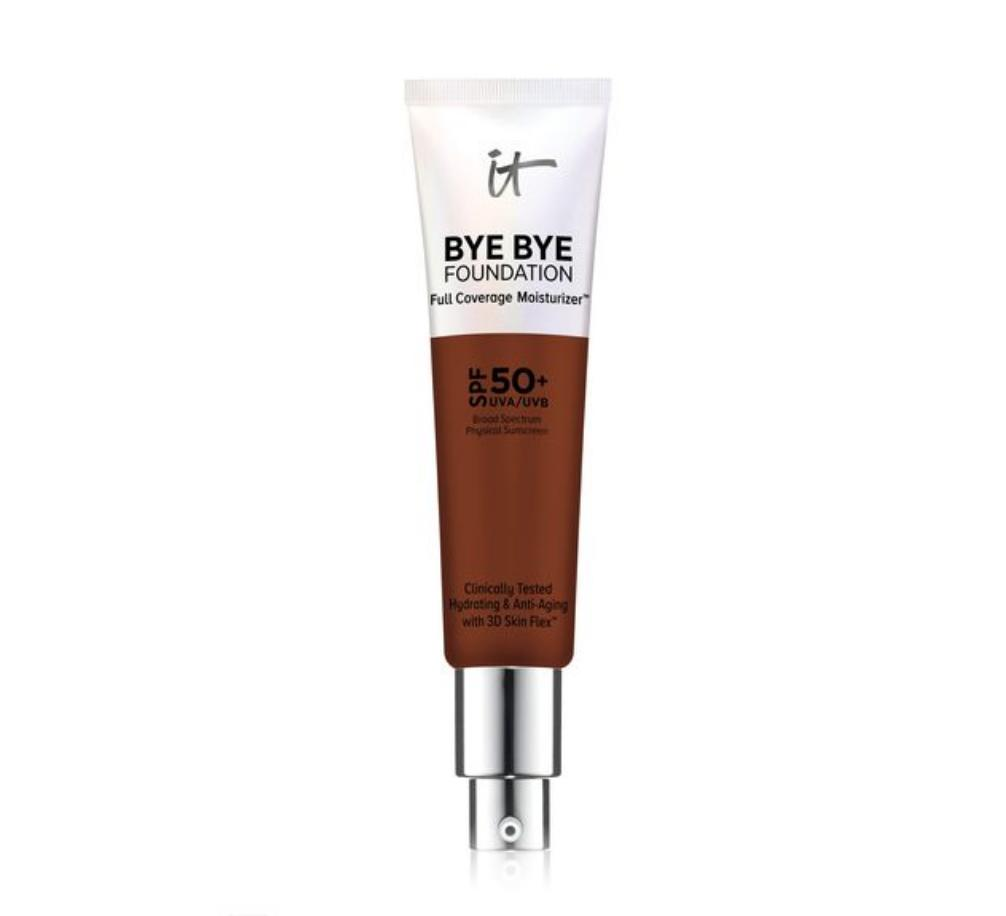 IT Cosmetics Bye Bye Foundation Full-Coverage Moisturizer Deep