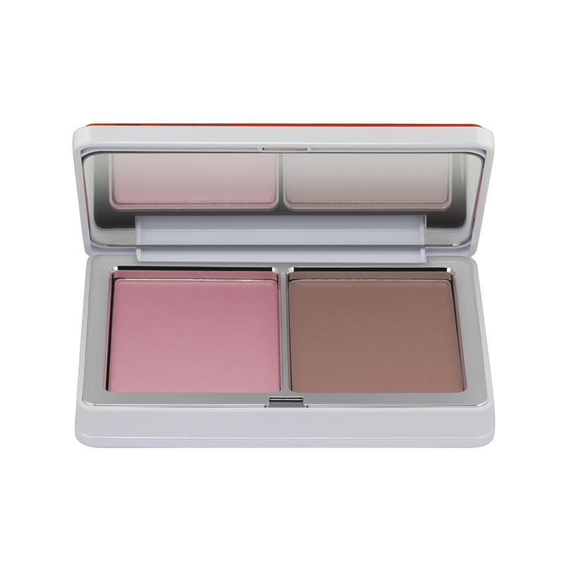 Natasha Denona Blush Duo Palette #03 Renee's Pastel Pink 18 Antique Nude 17