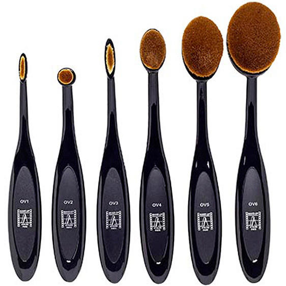 Makeup Atelier Oval Brush Set