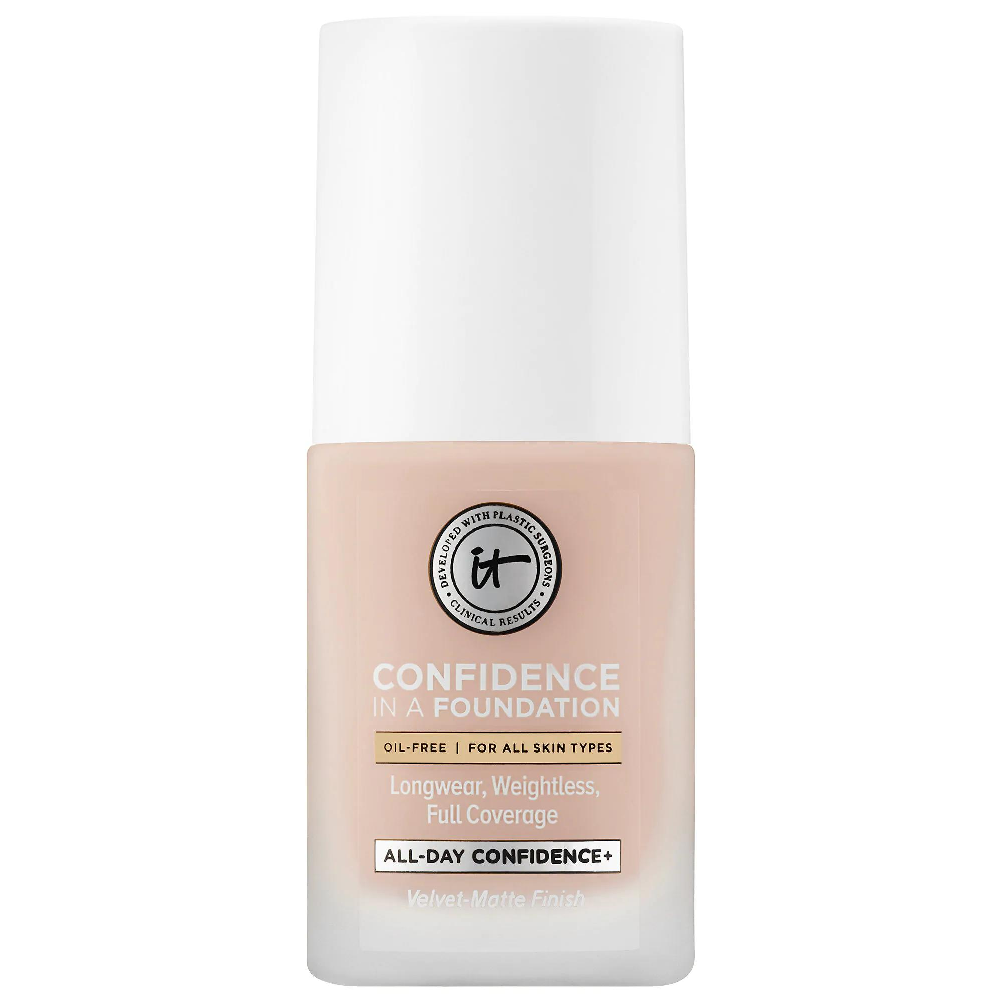 IT Cosmetics Confidence In A Foundation Light Shell 105