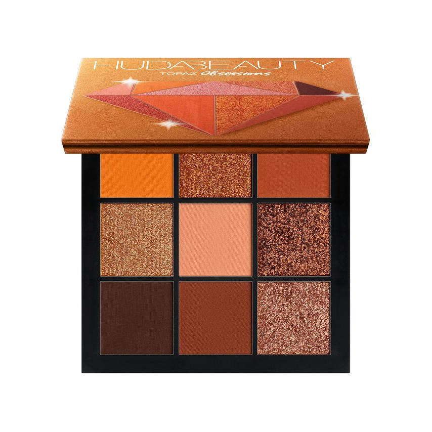 HUDA Beauty Topaz Obsessions Eyeshadow Palette