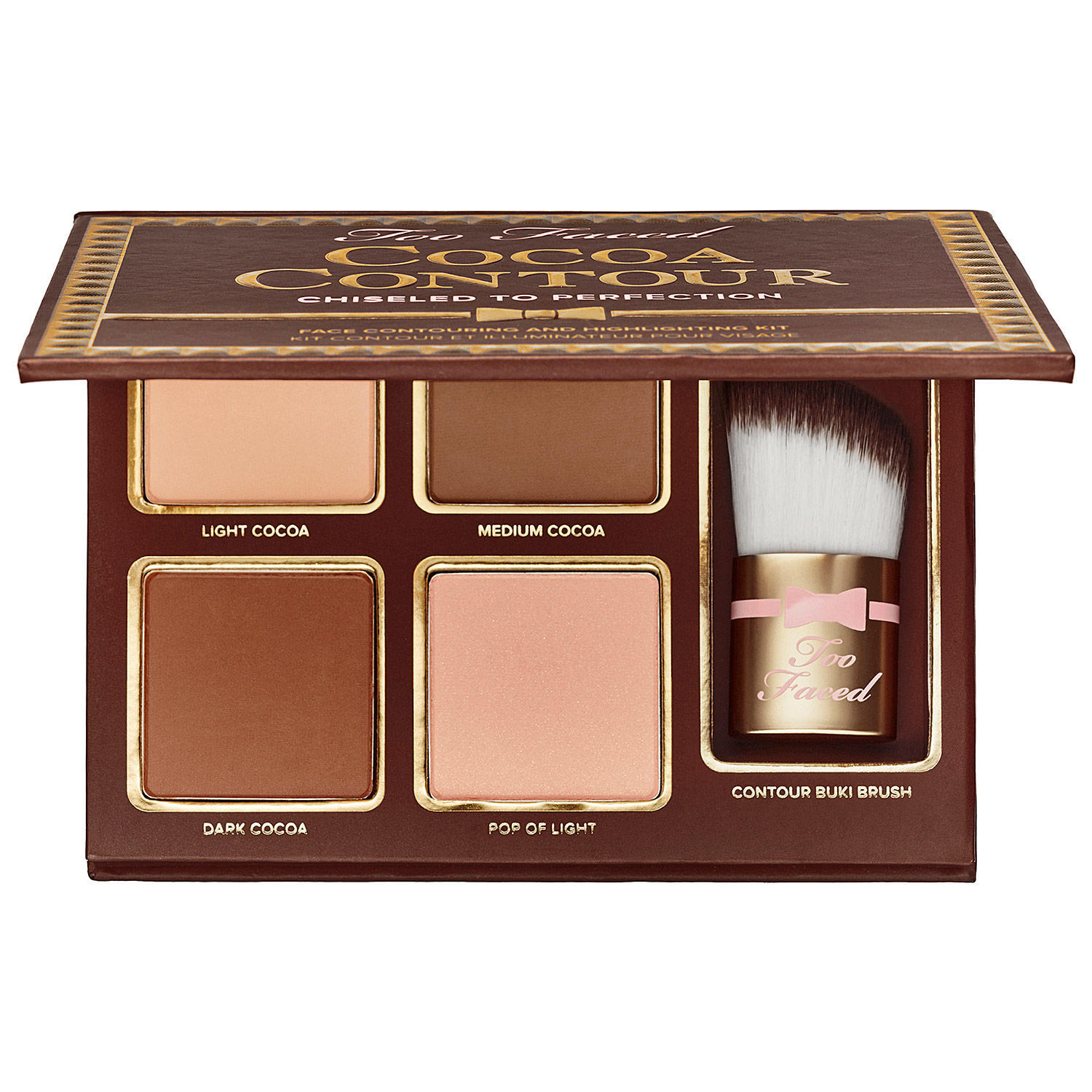 Too Faced Cocoa Contour Palette Light To Medium (Palette Only)