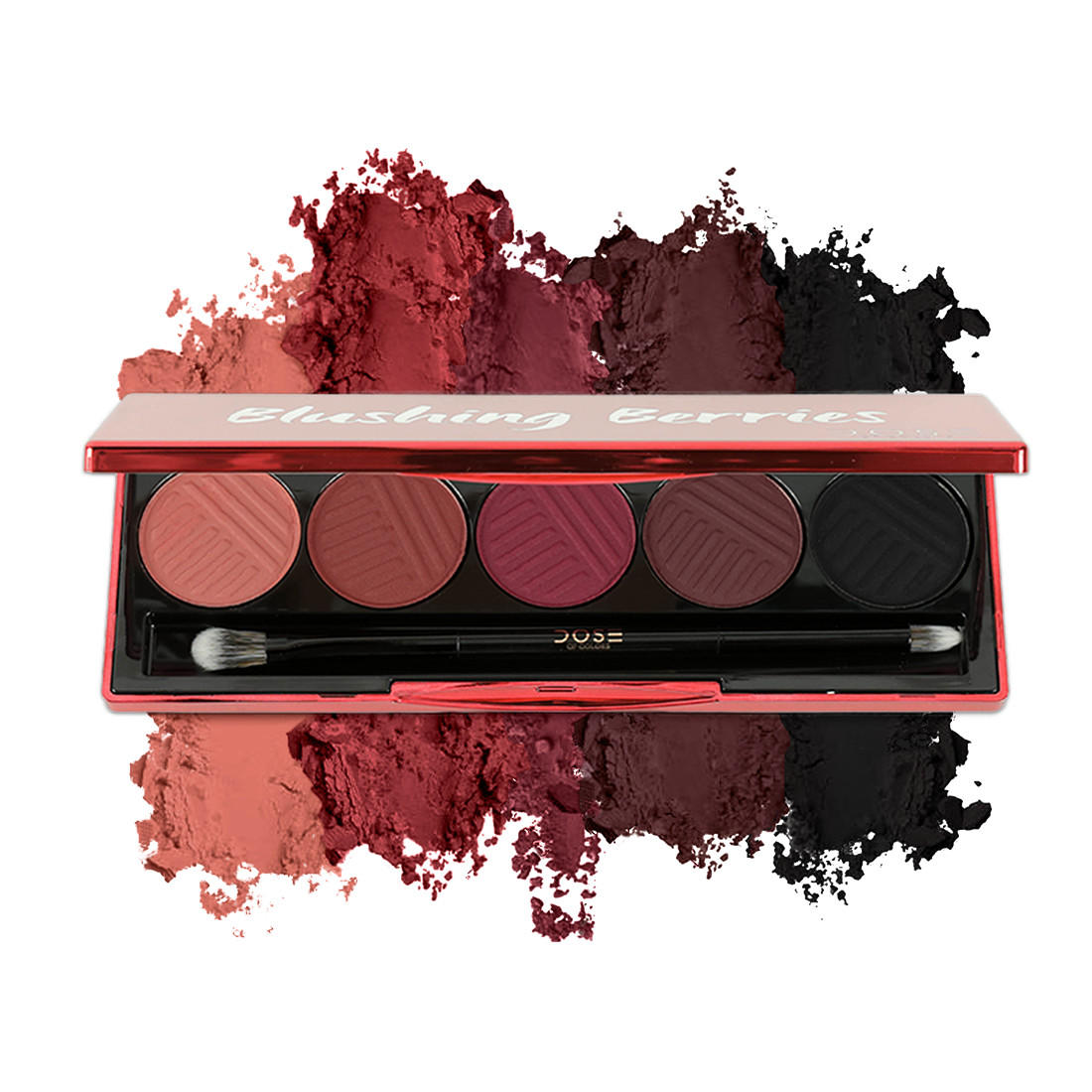 Dose Of Colors Matte Eyeshadow Palette Blushing Berries