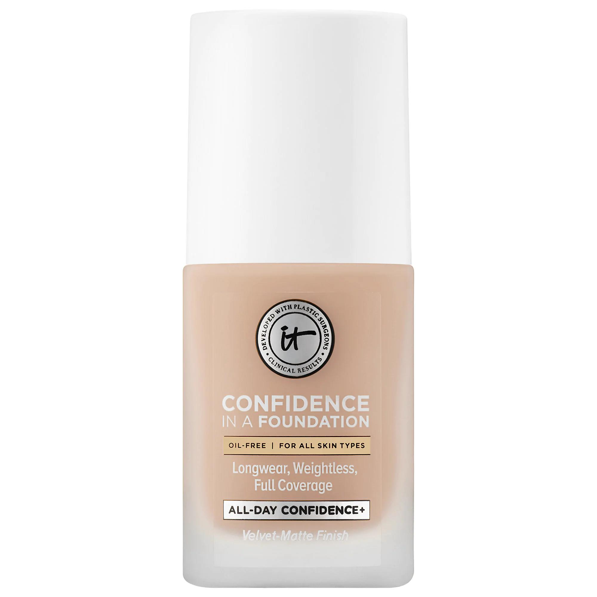 IT Cosmetics Confidence in a Foundation Light Honey 140