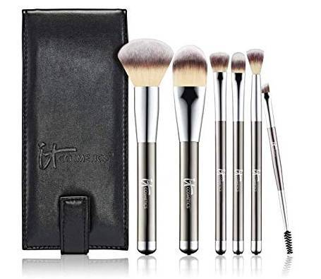 IT Cosmetics Heavenly Luxe 6-pc Brush Collection with Travel Case